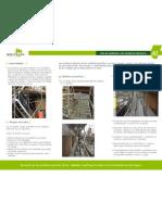Uso de Andamios Con Escaleras Interiores
