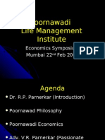 Poornawadi Life Management Institute.