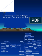 Ppt for Concurrency Ctrl