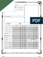 Talislanta 4E Form-Fillable Character Sheet