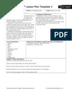 SIOP Lesson Plan (3) 3-14-13