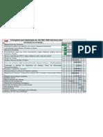 Cronograma implantação  ISO 9001