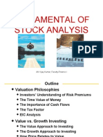Fundamentals of Stock Analysis