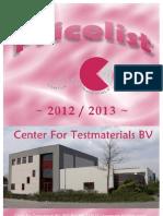 CFT Pricelist 2012-2013 1.0
