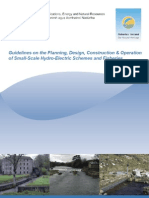 Guidelines Planning, Design, Construction Operation of SS Hydro