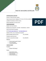 (Avance programa VI Raid de San Isidro Castrillón)