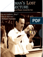 Feynman Lost Lecture - Motion of Planets