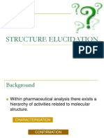 Elucidation Structure