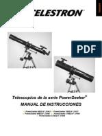 Manual Del Telescopio PowerSeekerEQ