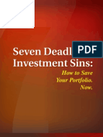 7 Deadly Investment Sins