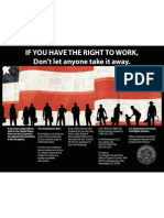 Right to Work Poster English