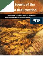 The Events of the Day of Resurrection - Shaikh Dr. Ubayd bin Abdillah al-Jaabiree