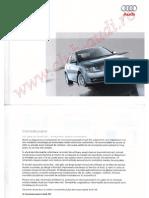 Manual Utilizare Audi a4 b7 05-08 (Www.club-Audi.ro)