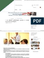 Alte 10 Tehnici Psihologice Pentru a Creste Puterea Ta de Convingere NLP Dezvoltare Personala Consiliere Incredere in s