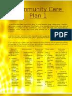 Community Care Plan 1