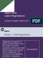 Contract Training ATU