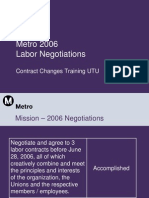 Contract Training UTU