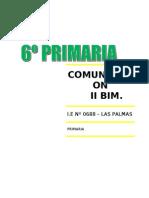 Comunicacion II Bim