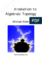 Alder - An Introduction to Algebraic Topology