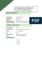 CV Dir[1]. M&E