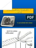 4 CABULLERÍA CABOS - CABLES - NUDOS