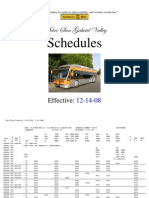 SG Schedules