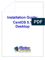 Installation Guide of CENTOS 5