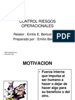 Control Riesgos Operacionales