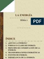 Tema 1 La Energia