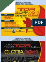 Informacion General Tdr Colombia. Registracion. Hoteleria. Etc.