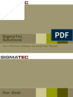 SigmaTec Solutions - Your Off-shore Software Development Partner