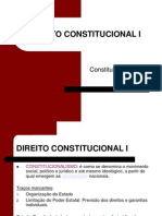 Direito Constitucional I- Slides