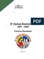 IV Censo Economico