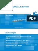 5-AG_SS02_E2 ZXMSG 5200 (V3.1) System Structure(Ppt) 73p