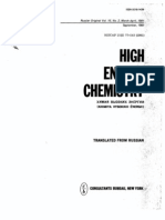 Activation-chemisorption Model of Plasma Polymerization 1981 Gk Vinogradov High Energy Chemistry