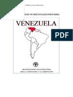 Perfiles Nutricionales Por Paises Venezuela