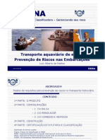 RBNA - Transporte aquaviário de etanol