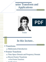 Fourier Transform Applications