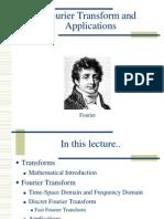 Fourier Transform Applications