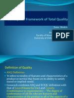 Conceptual Framework TQM-II