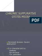 Chronic Suppurative Otitis Media