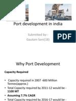 Port Development in India