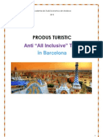 Itinerar Turistic Chisinau-Barcelona