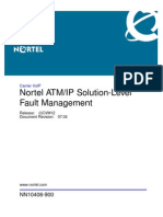 ATM IP Solution Level Fault Management CVM12 NN10408 900_07.04
