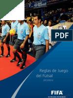 FIFA Reglas Juego Futsal 2012-13