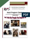 2013-2014 Adult Program Catalog