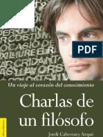 Charlas de un Filósofo, JordiCabestany