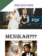 Pernikahan Dini Penyuluhan