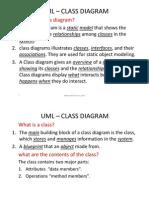 Uml - Class Diagrams