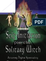 Self Initiation for the Solitary Witch